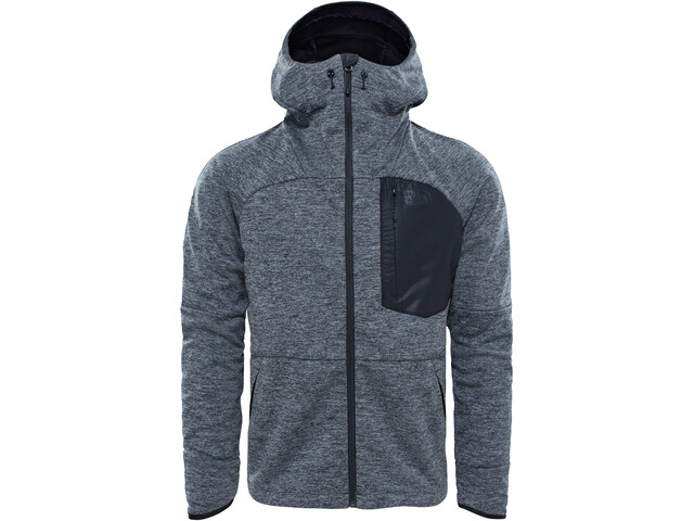 26f8c13ef4 The North Face Thermoball Windwall Hooded Jacket Herren Black Heather